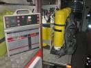 TLF-A - Atemschutzeinsatztafel und Atemschutzgeräte