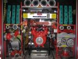 LFB-A - Rückansicht mit Pumpe Fox II