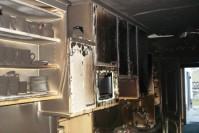 Geschmolzene Kücheneinrichtung