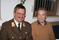 BFK Herbert Oberhauser mit dem Feuerwehrarzt a.D. Dr. Gasser