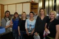 Die freiwilligen, helfenden Hände, die für unser leibliches Wohl sorgten