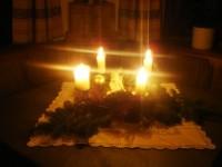 ACHTUNG bei Adventkränzen!